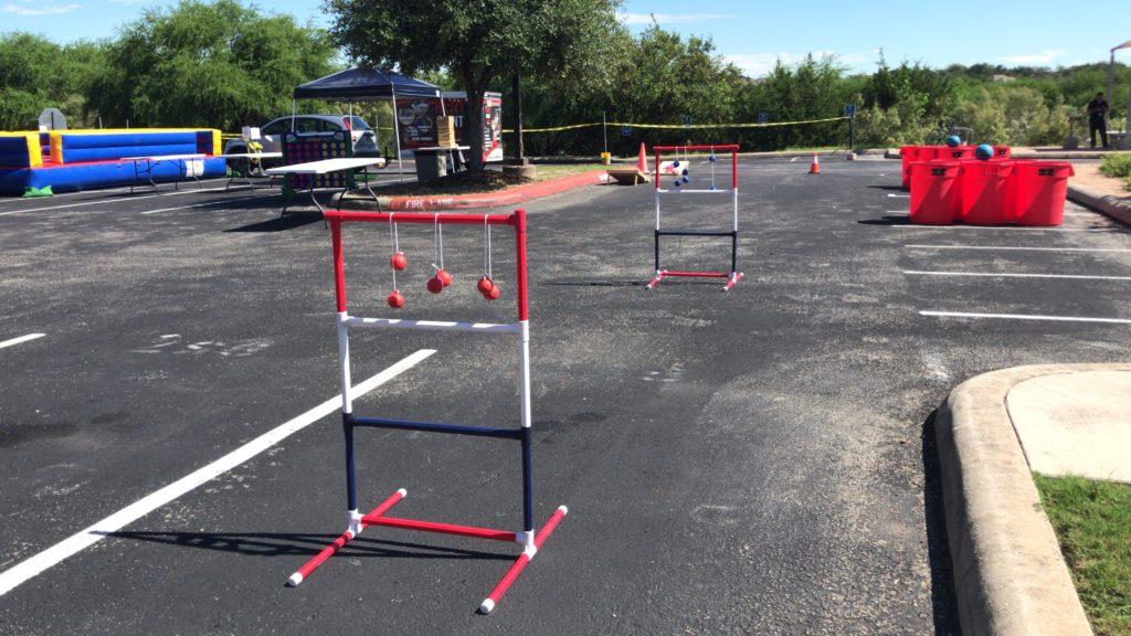 Ladder Toss Rental in San Antonio
